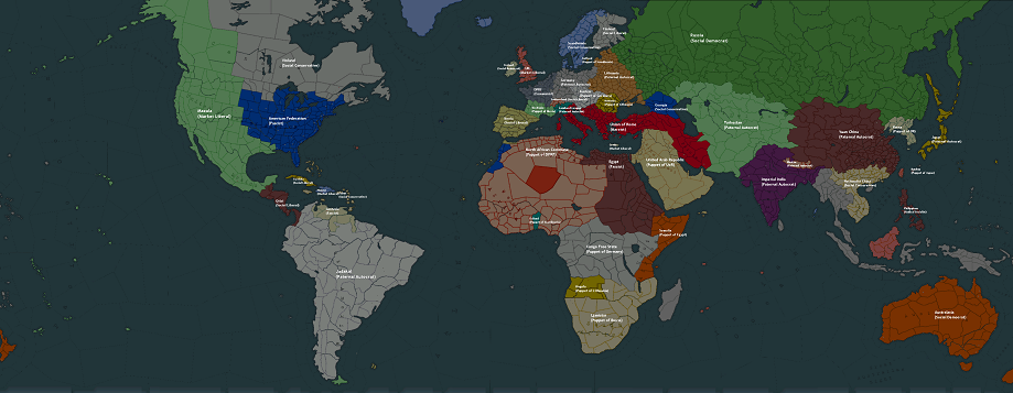 Paradox Part #98   Bonus: 1936 World Map and Factions