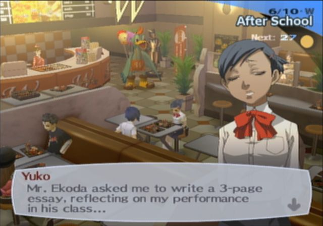 persona 3 fes dating yuko Shin megami tensei: persona 3 fes for playstation 2 cheats - cheating dome has all the latest cheat codes, unlocks, hints and game secrets you need.