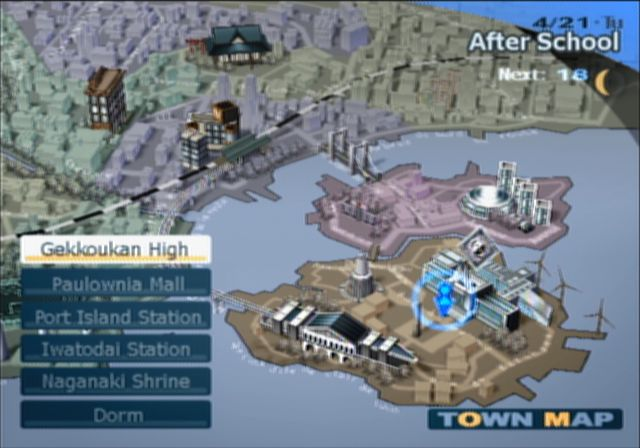 Persona Part Entry Five April - Japan map persona 4