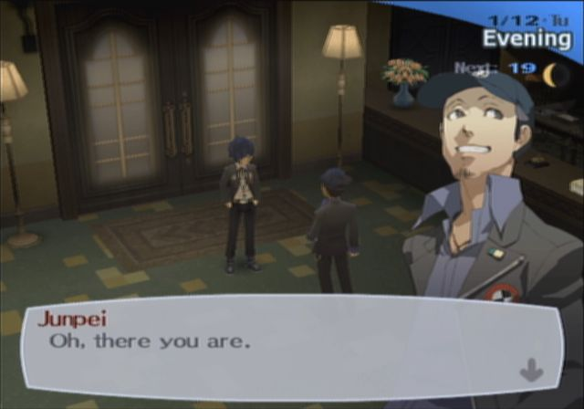 Persona 3 dating junpei