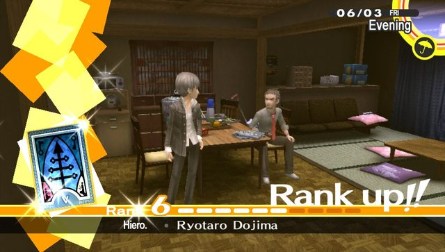 You Left Dojima In The Living Room And Went To Your Room