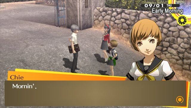 Persona 4 dating air
