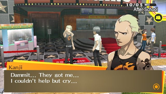 Persona Golden Part October October Where The Heart Is - Japan map persona 4