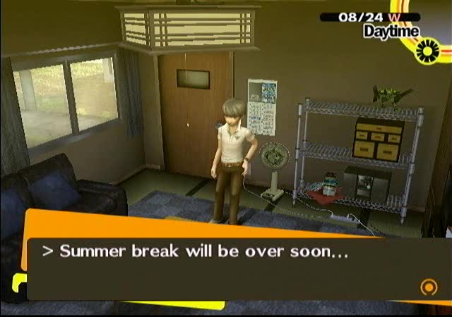 Persona 4 should i help nanako with homework