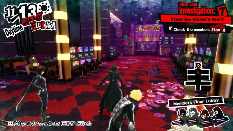 Best Party For Casino Palace Persona 5