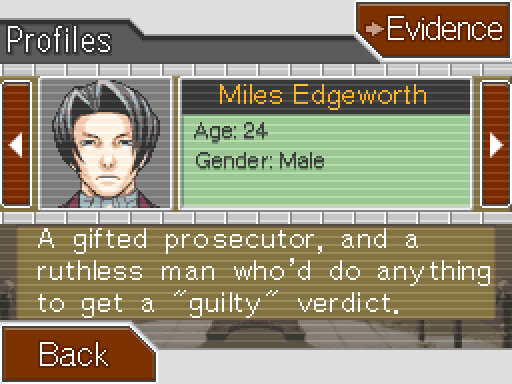 Phoenix Wright Ace Attorney Part 38 Case 4 Turnabout Goodbyes Investigation Day 1 Part 2 36,256 likes · 6 talking about this. phoenix wright ace attorney part 38