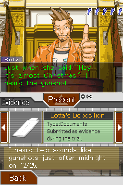 Almost Christmas Means It Wasnt Christmas.Phoenix Wright Ace Attorney Part 51 Case 4 Turnabout