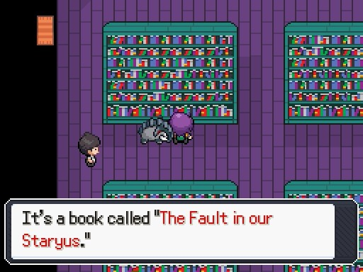 Pokemon Insurgence Part #21 - Utira Library