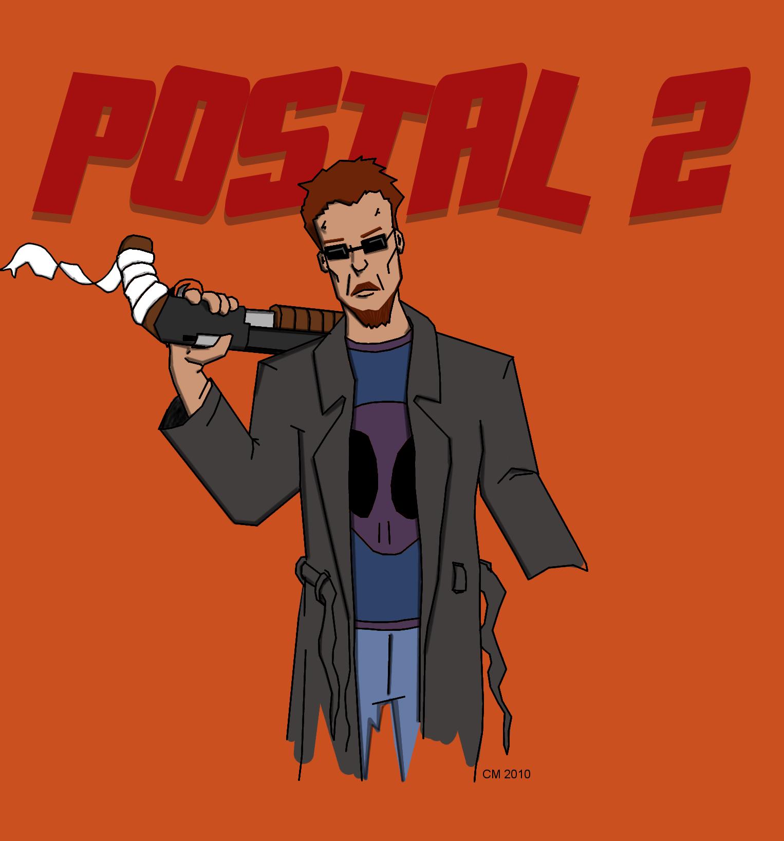 postal 2 dude art