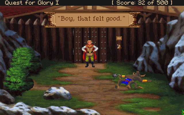 Quest For Glory 1 5 Part 19 Bothering The Brigands Part 1