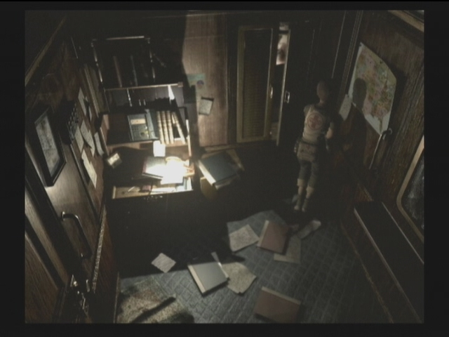 Resident Evil  Conductor S Room