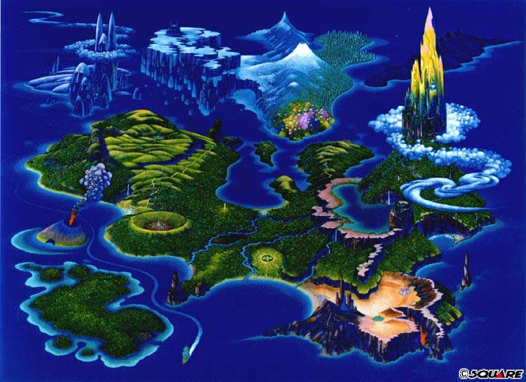 Beautiful video game world maps kotaku australia gumiabroncs Gallery