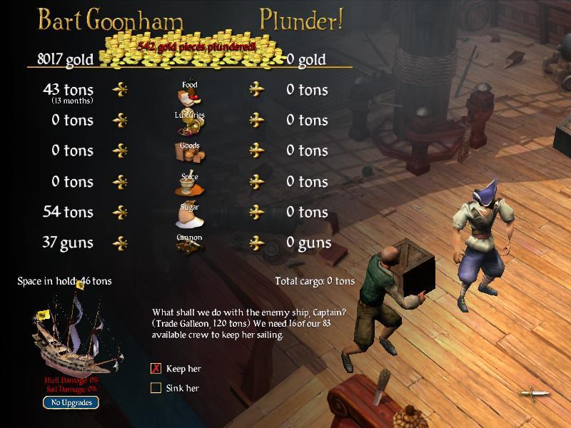 Game fix / crack: sid meier's pirates! V1. 02 all no-dvd nodvd nocd.