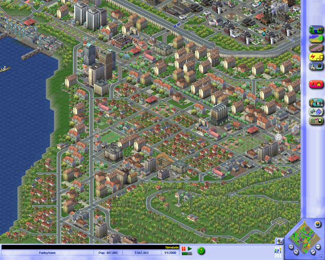 SimCity 3000 Part #40 - Fit The Thirty-Sixth : The Sprawl