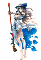 pretty sure Harada did the art for her. He definitely designed the