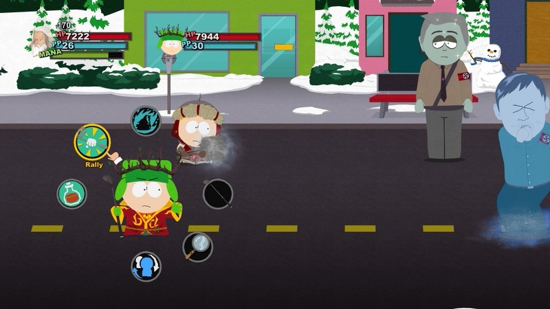 Kyle is up first. South Park  The Stick of Truth Part  20   Emergency Meeting at the