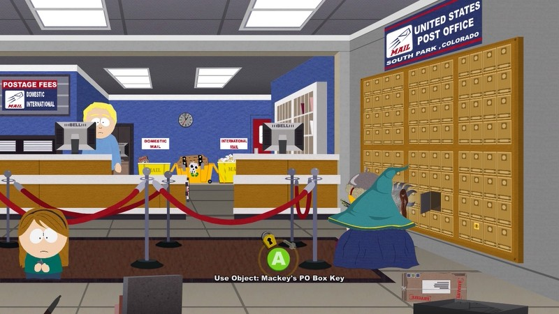 I doubt she ll be our way in with the girls  She can t look up from her  phone long enough. South Park  The Stick of Truth Part  20   Emergency Meeting at the