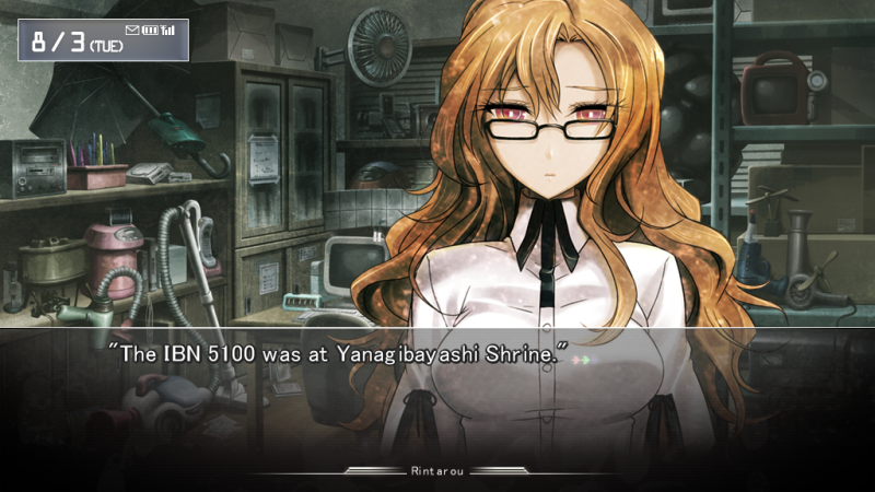 Steinsgate Part 39 Kiryuu Moeka Sends A Large Number Of Emails