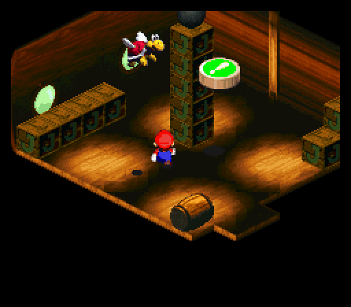 There S A Prize In This Party Room Mario