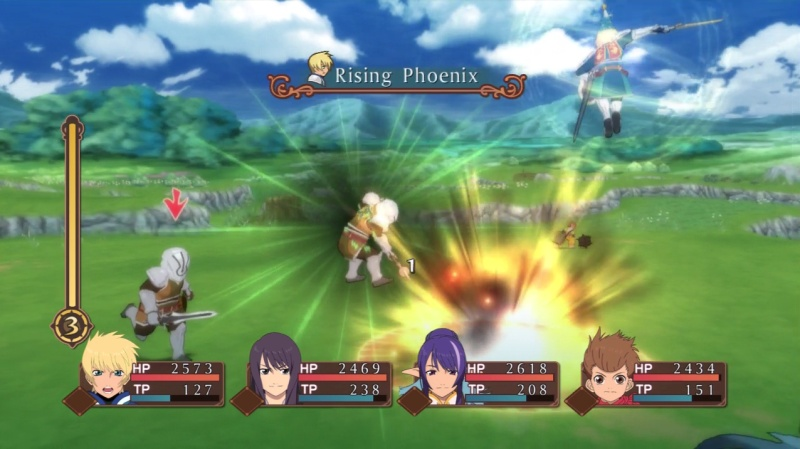 tales of vesperia how to change burst arte elemental