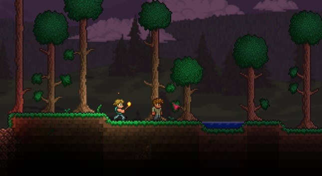 how to get off a slimey sattel in terraria