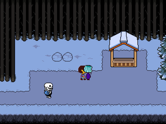 Undertale Part #6 - sans.