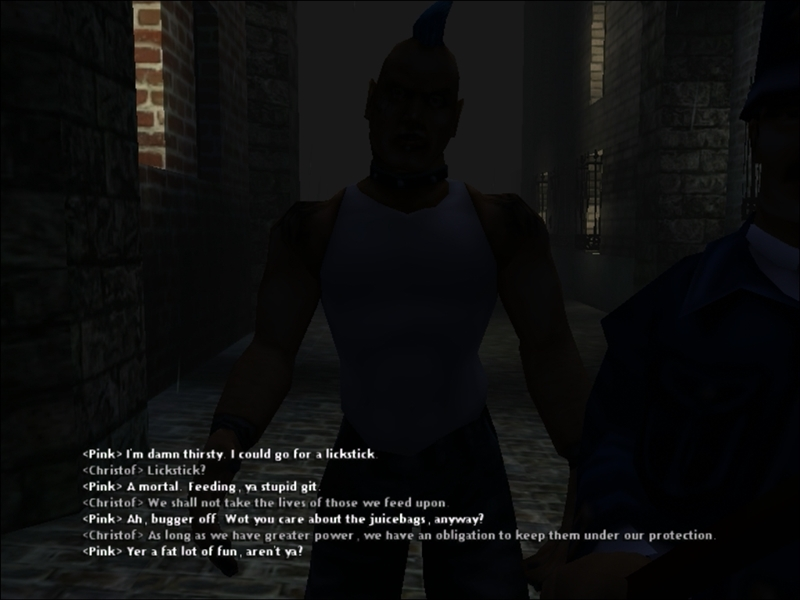 vampire the masquerade how to go downtown