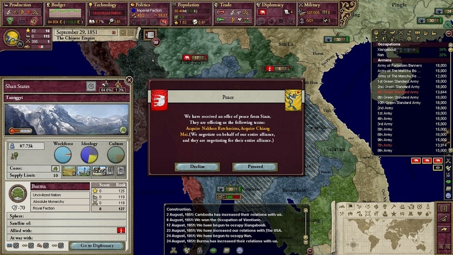 how to start a crisis in victoria 2