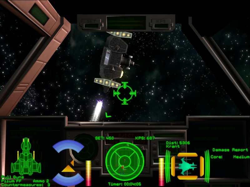 Wing Commander Iii Standoff Part 59 Too Much Company Cygnus