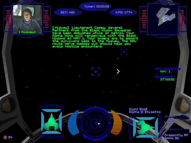 Wing Commander Prophecy Part 1 Flight Log 1 Lt Lance Casey