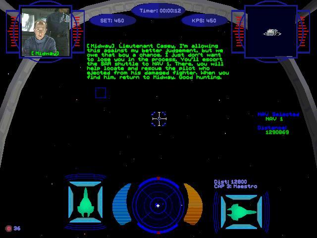 Wing Commander Prophecy Part 11 Flight Log 10 Lt Lance Casey