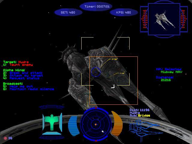 Wing commander prophecy part 6 flight log 6 lt for Wing commander prophecy