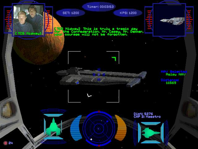 Wing commander prophecy part 9 flight log 8 lt for Wing commander prophecy