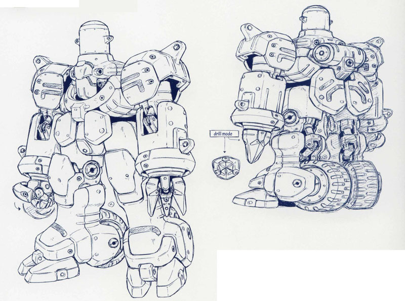Xenogears Character Design : Http lparchive xenogears by the dark id update